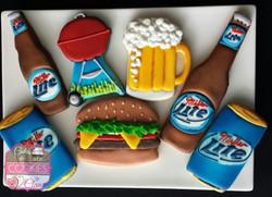 Miller Light Beer Summer Bar-B-Q