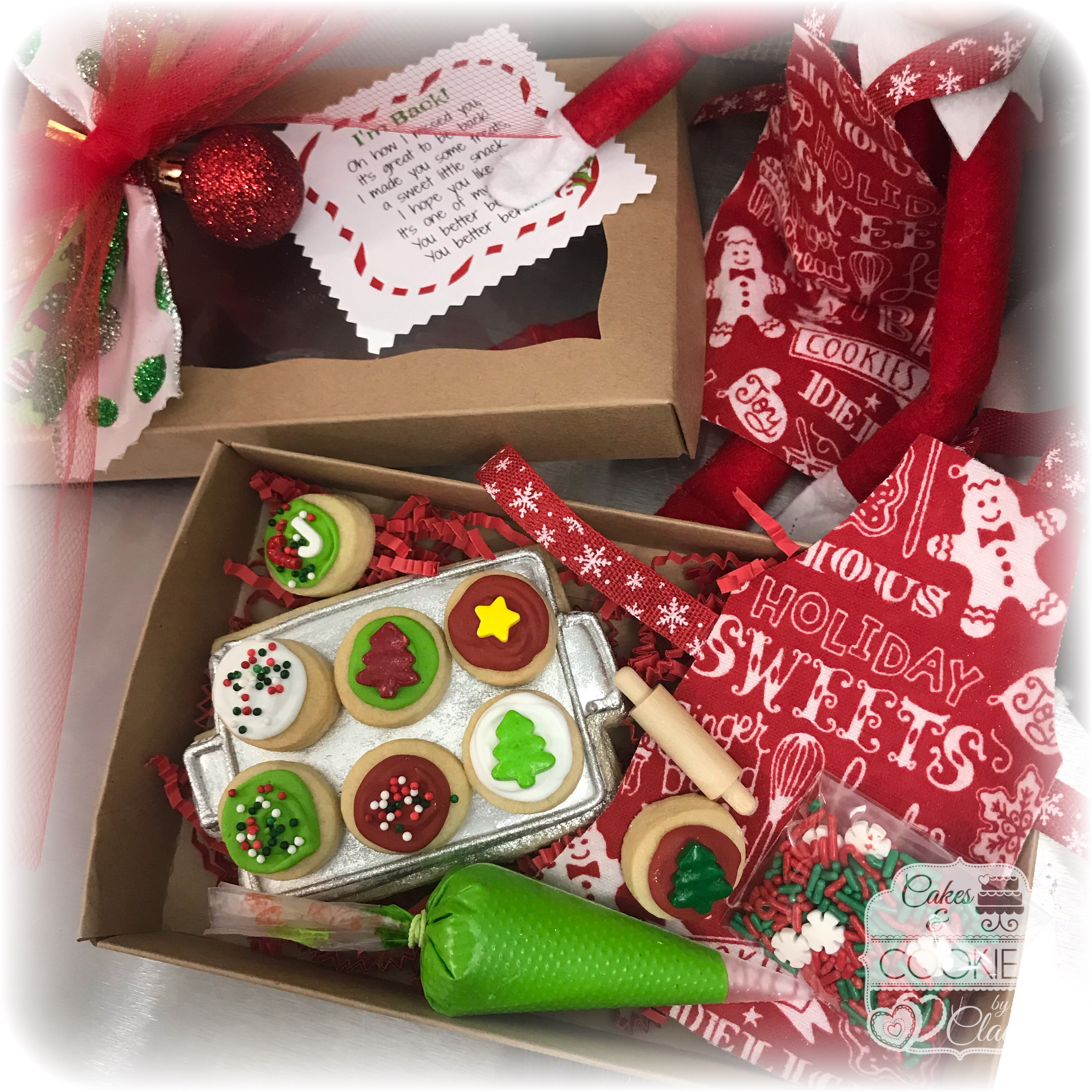 Elf on the Shelf Baking Cookie Set 1