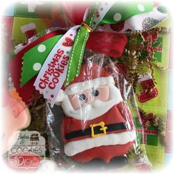 Individual Santa Cookie
