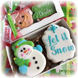 Snowman Cookie Gift Box
