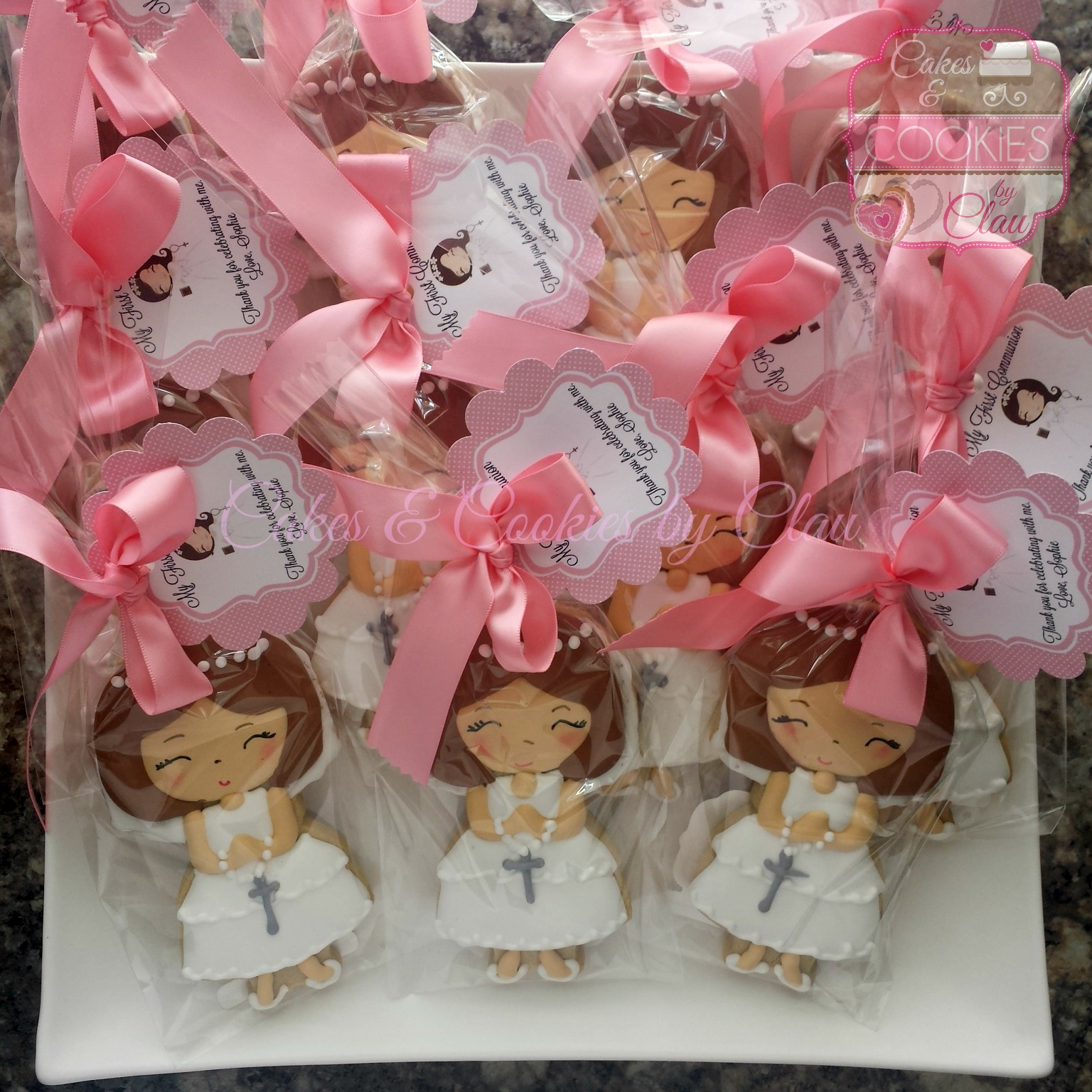 First Comm Favors - Sophie