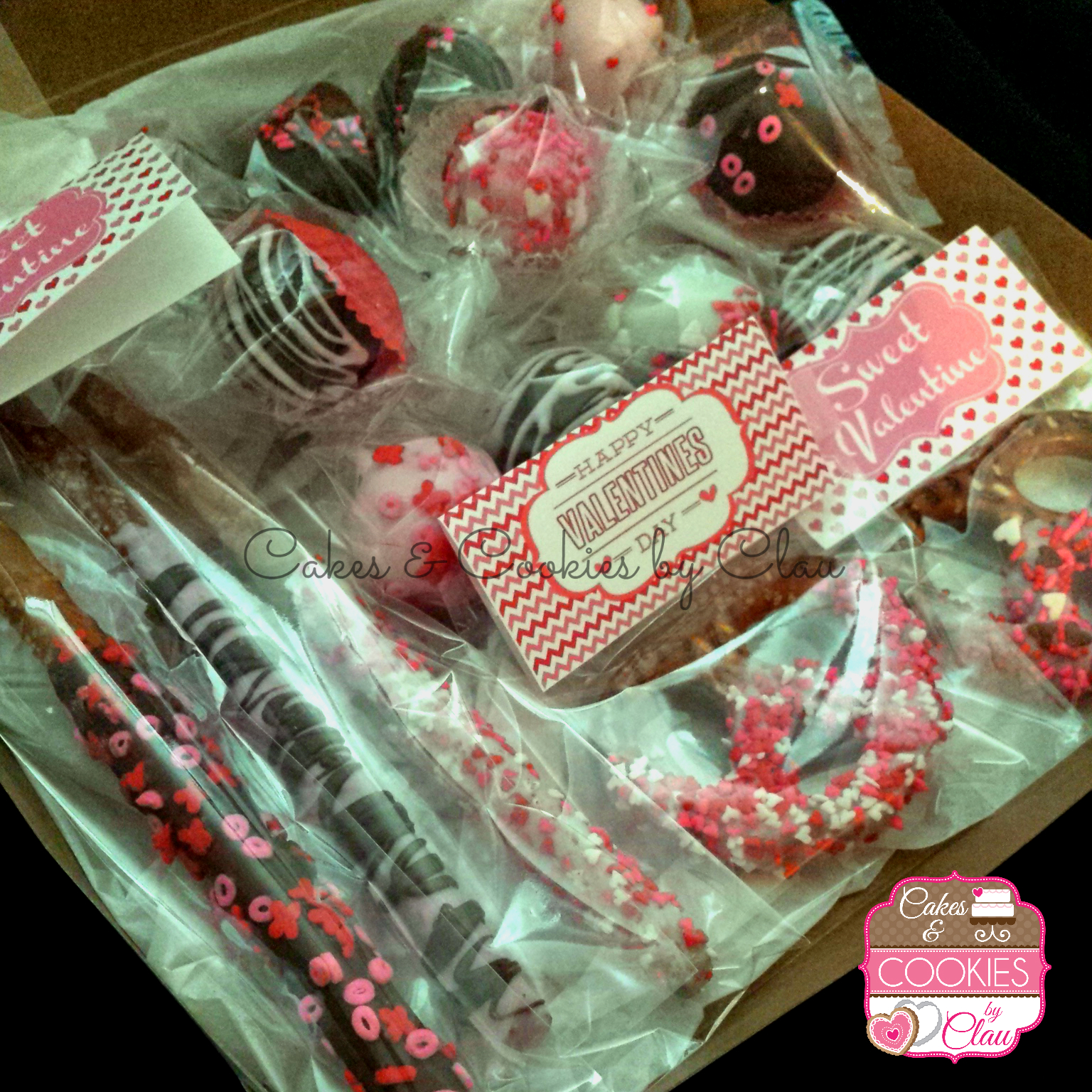 Valentines Day Sweet Treats Sampler
