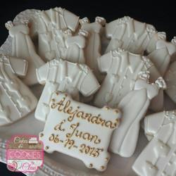 Wedding Dresses & Guayaberas Cookies