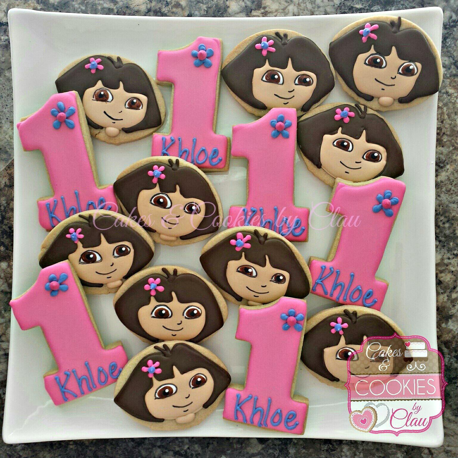 Dora 1st Birthday Set