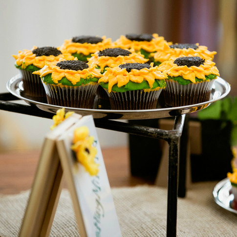 Sunflower Cupcakes - Customer Pic 1