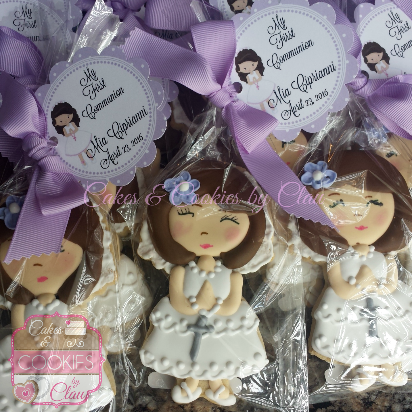 Girl Communion Party Favors