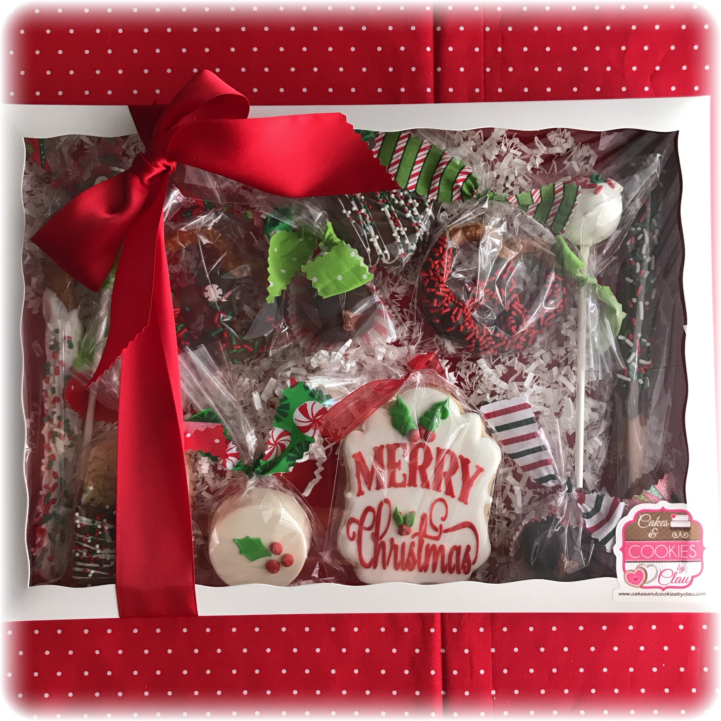 Christmas Sweet Treats Sampler Box