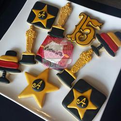 Oscars Themed Cookies