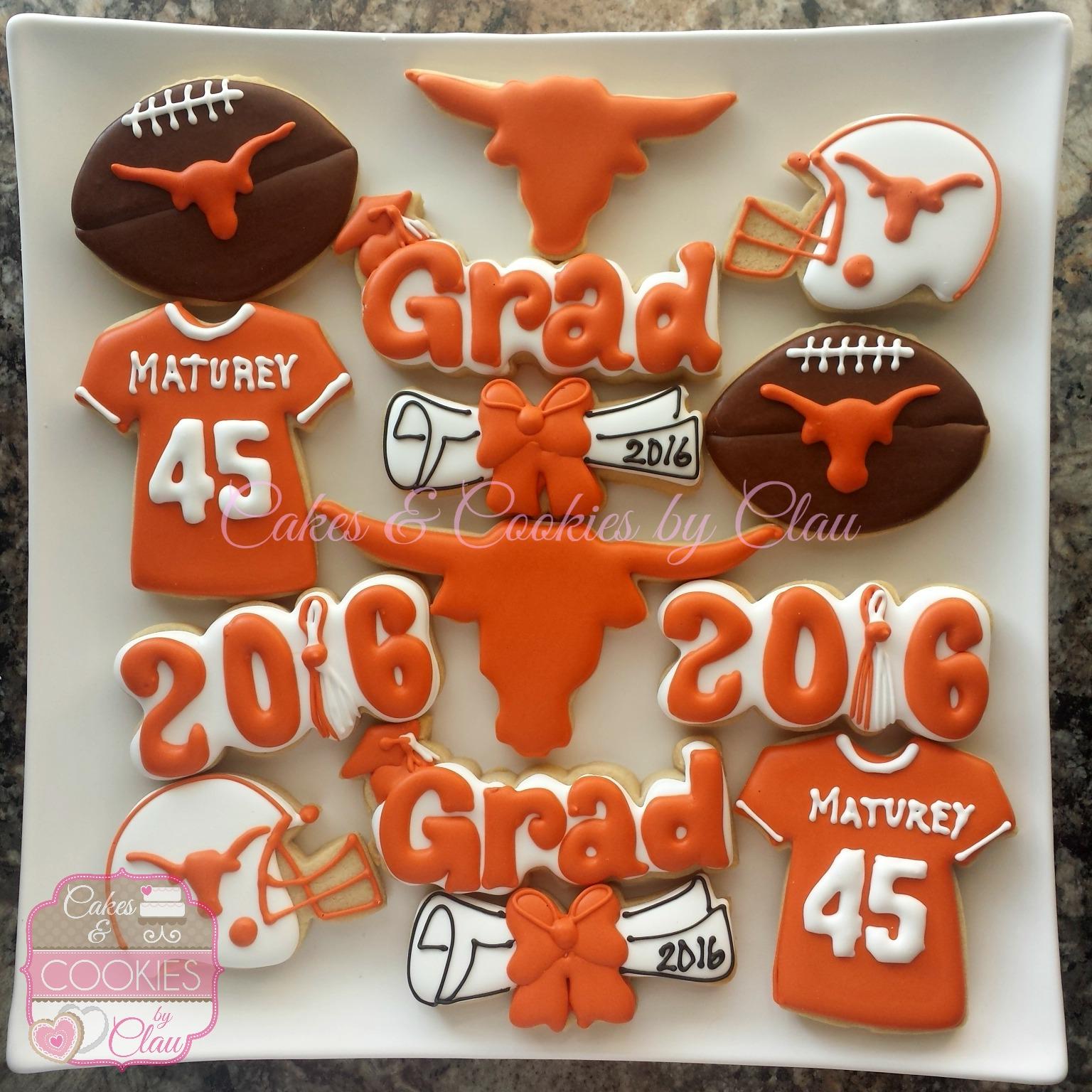 Dobie HS Graduation Cookies