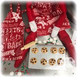 Elf on the Shelf Baking Cookie Set 2