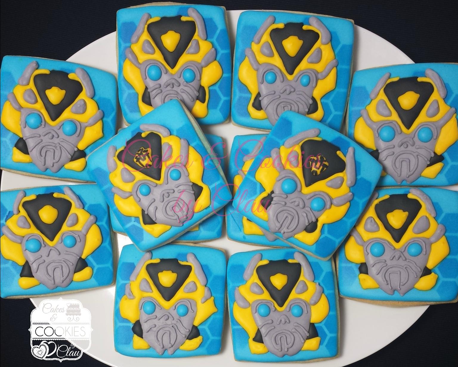 Transformers Bumblebee Cookies