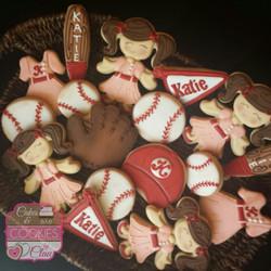 Vintage Baseball Cookies