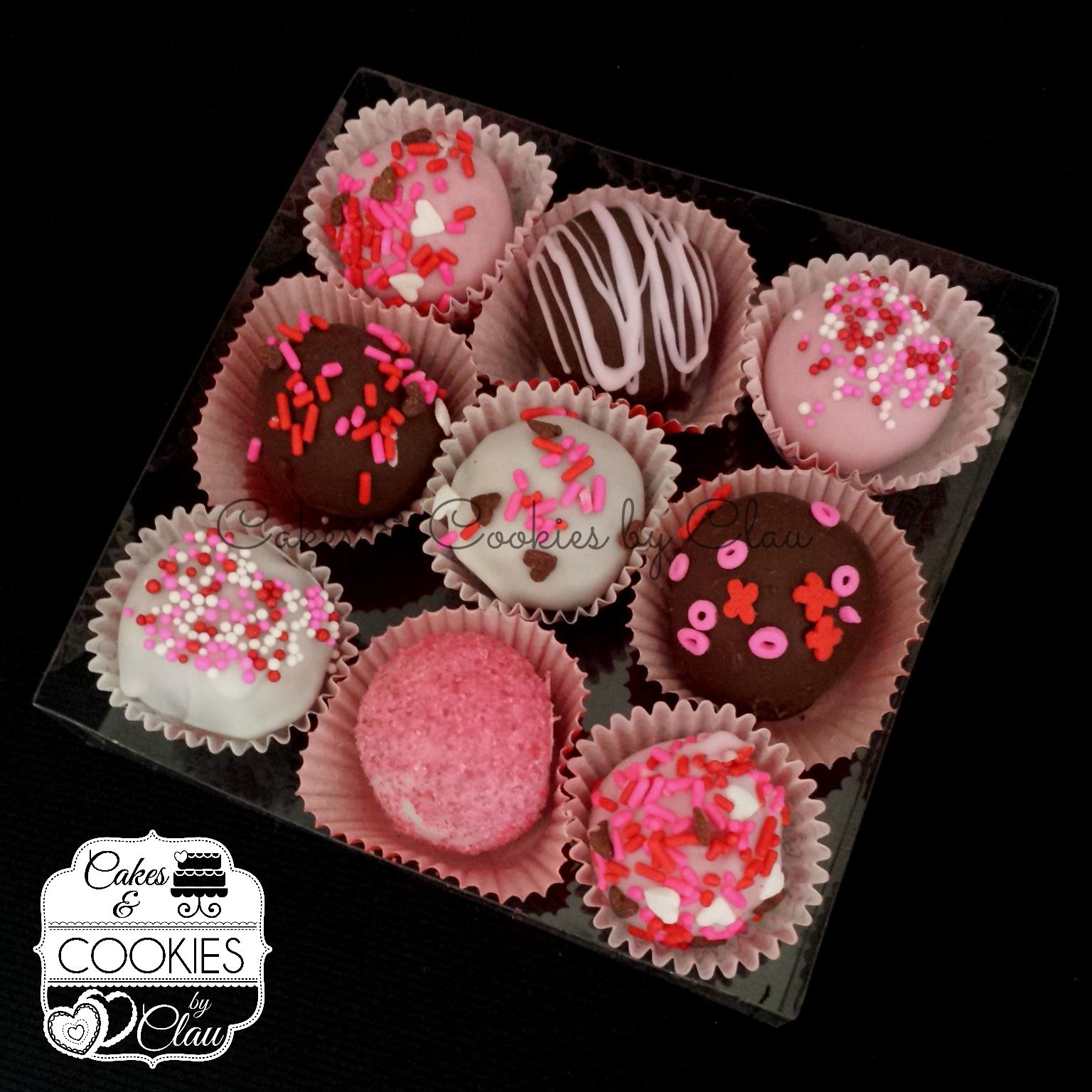 Valentine's Cake Balls