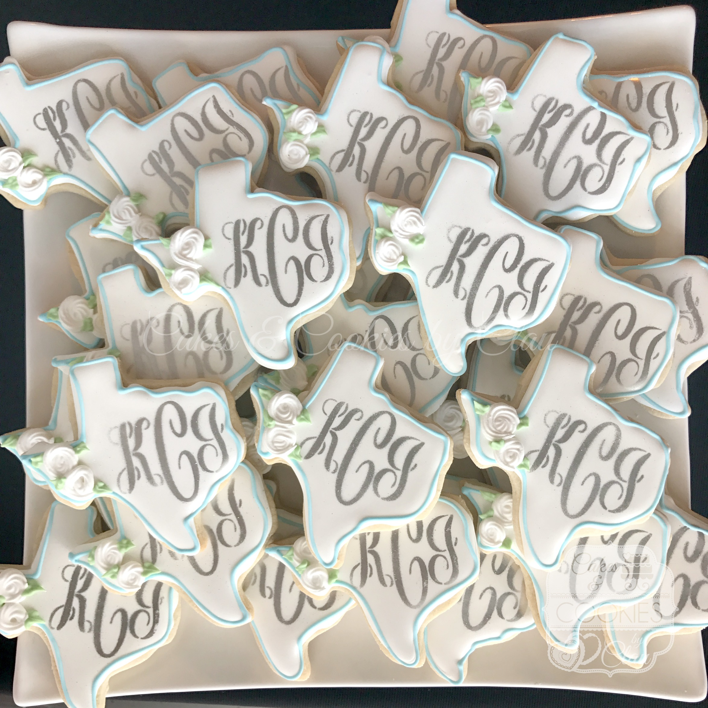 Texas Monogram Wedding