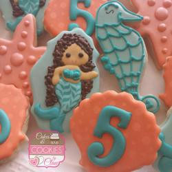 Mermaid / Under the Sea Cookies