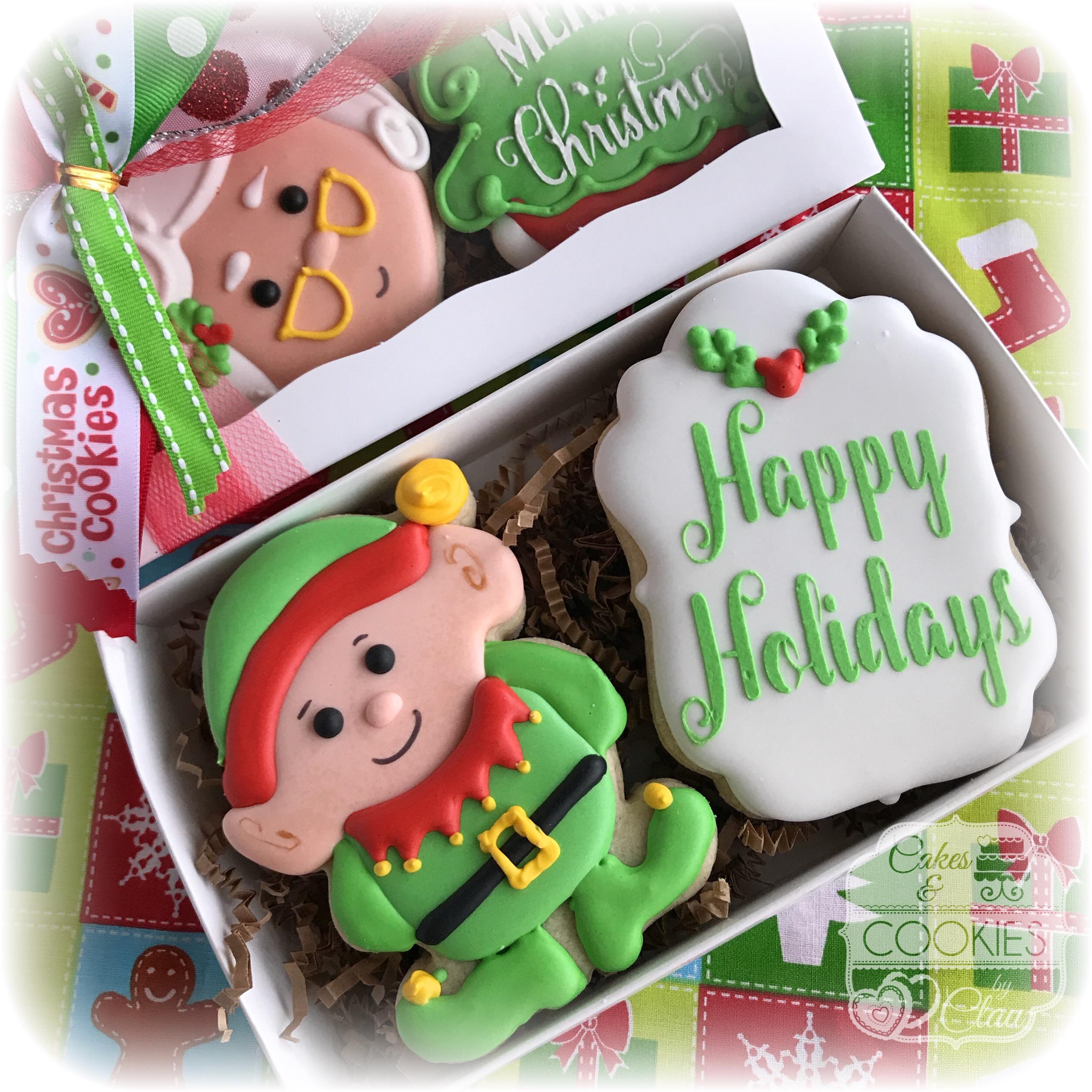 Elf Cookie Gift Box