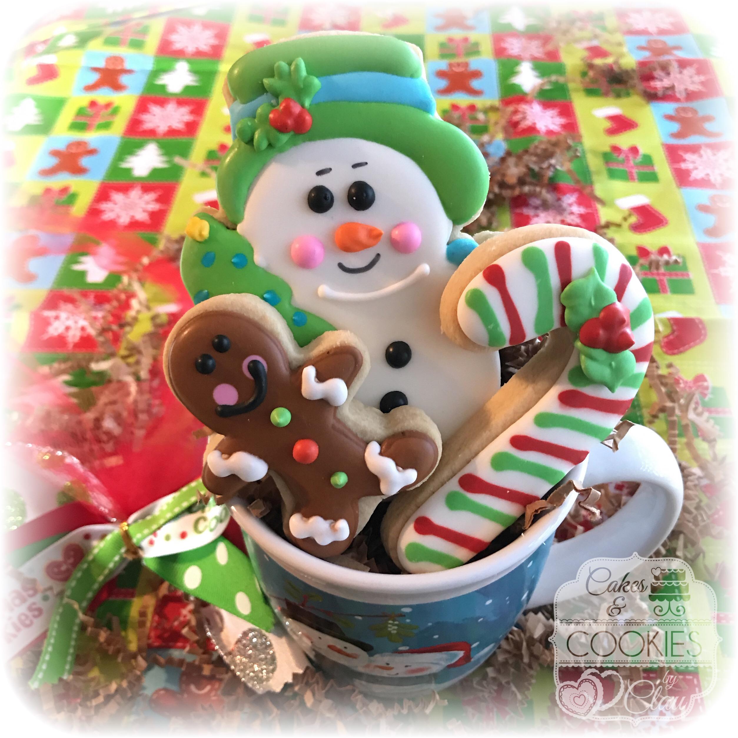 Snowman Cookie Mug