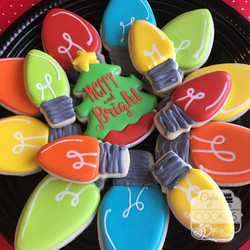 Merry & Bright Cookie Platter