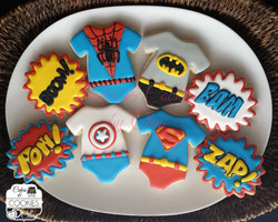 Baby Super Hero Platter