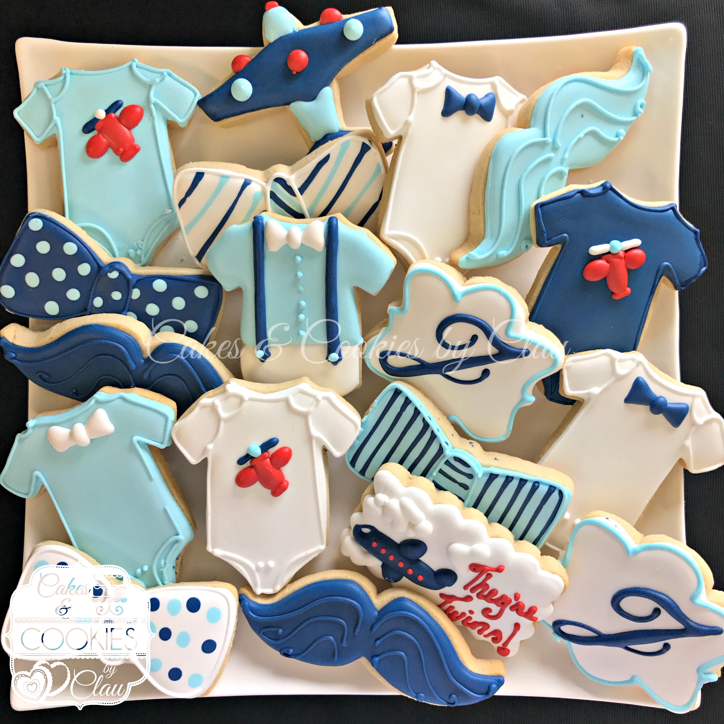 Baby - Airplanes Bowties