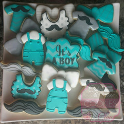 Mustache & Bow Ties Baby Shower