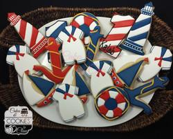 Nautica Themed Cookies