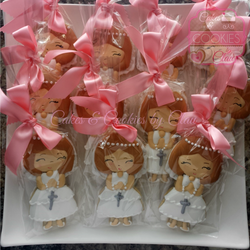 First Communion Favors - Blonde