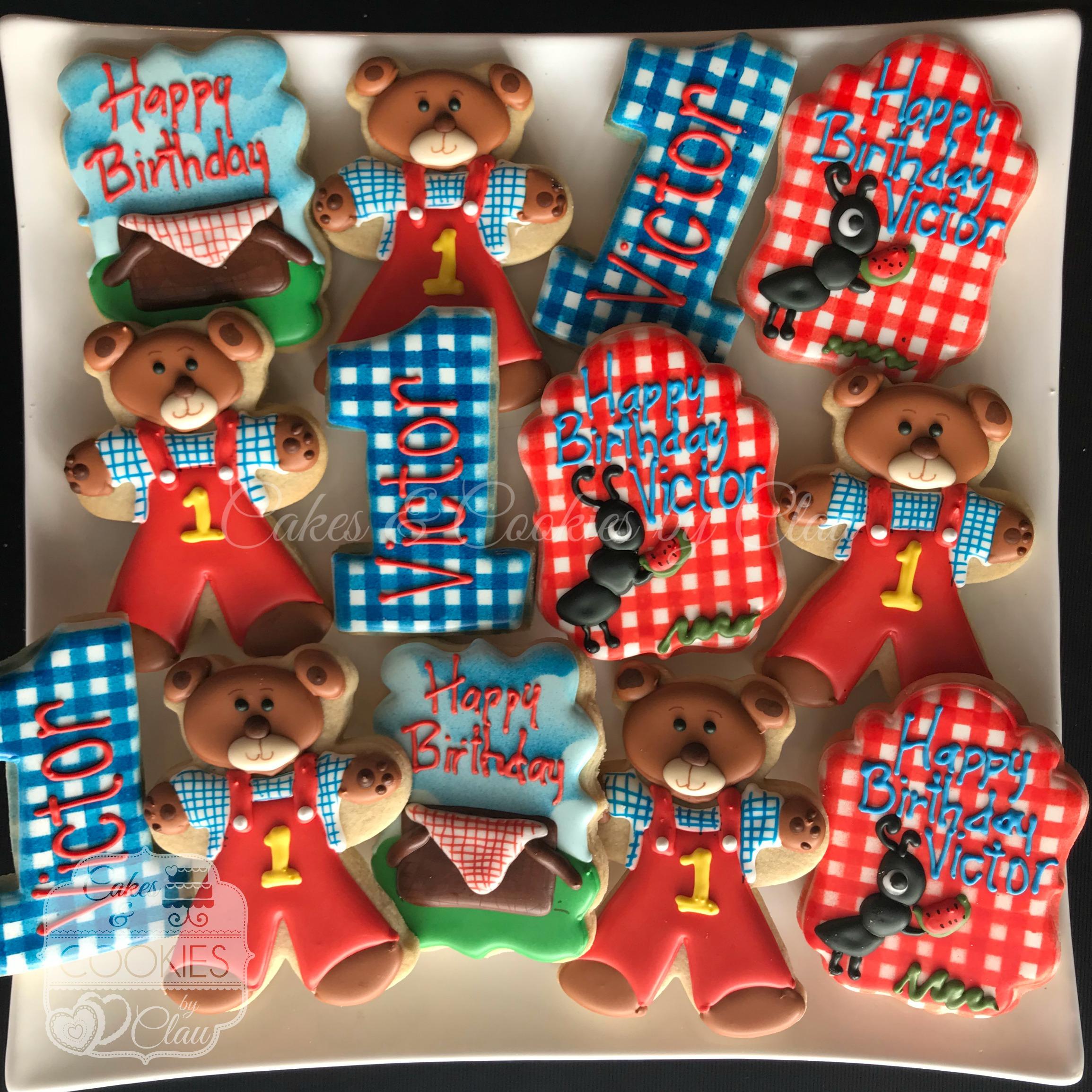 Bears - 1st Birthday