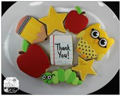 Teacher's Thank You platter