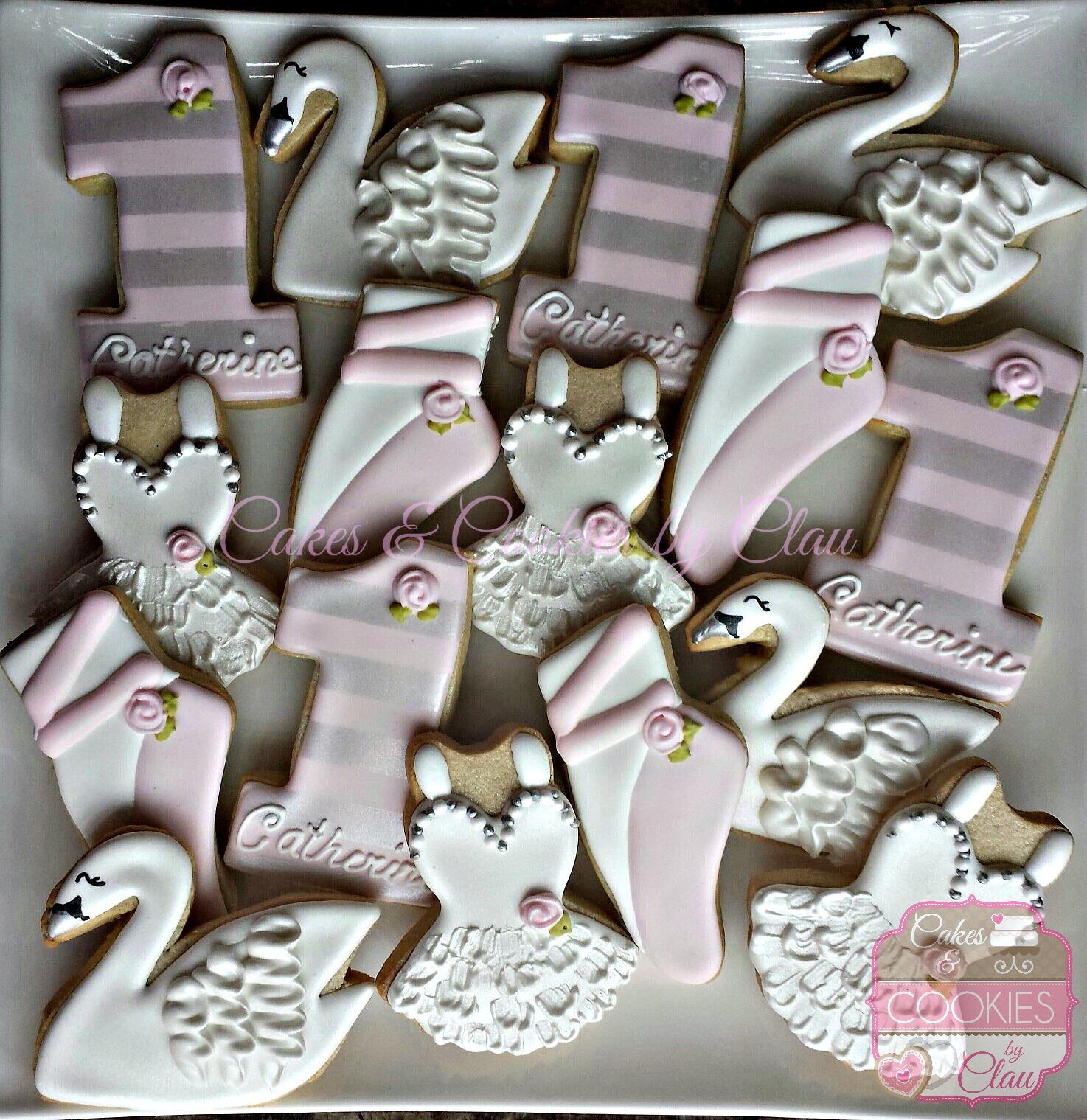 Ballet Swan 1st Birthday Set