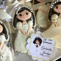 Gabriella - Ivory Dress