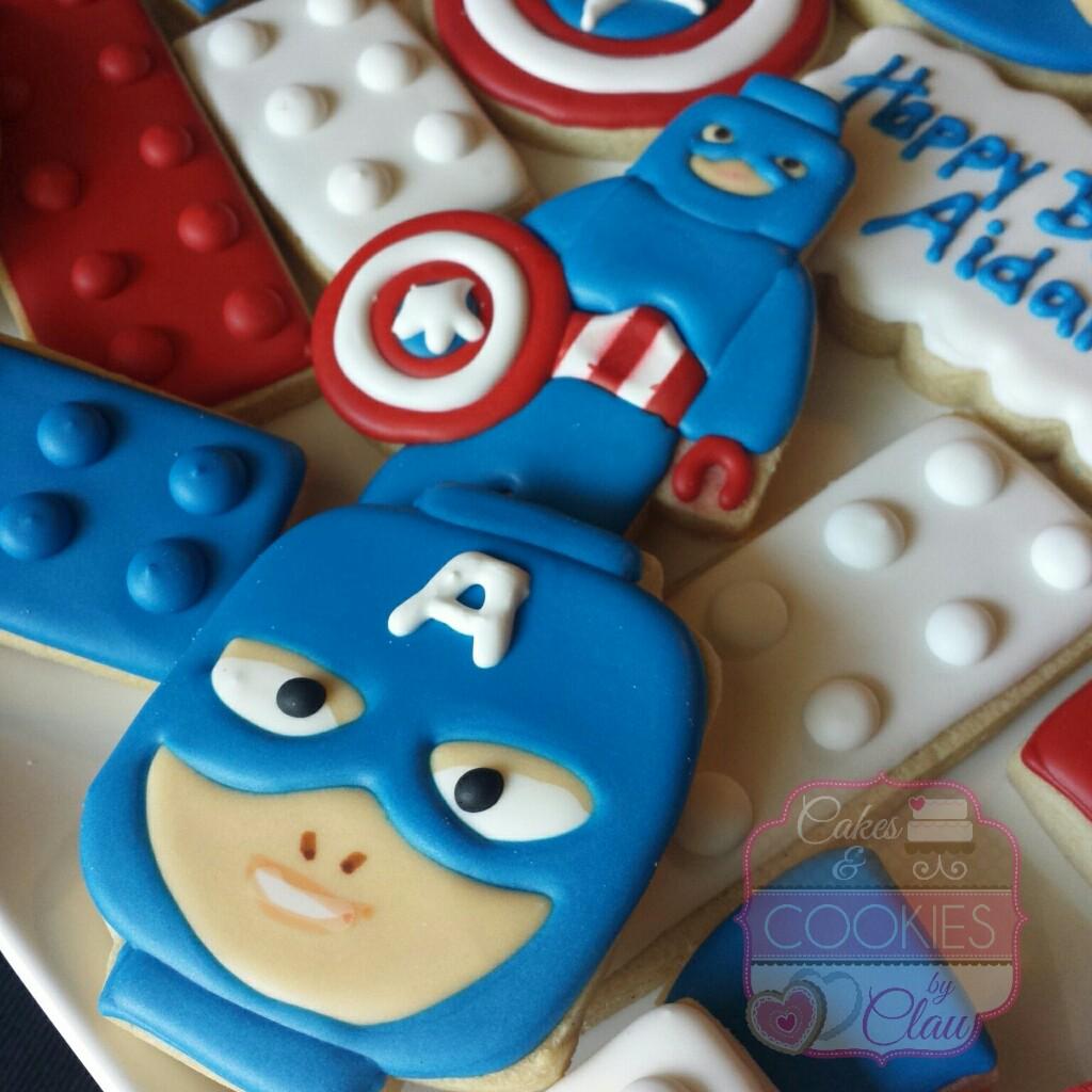 Lego Captain America Set