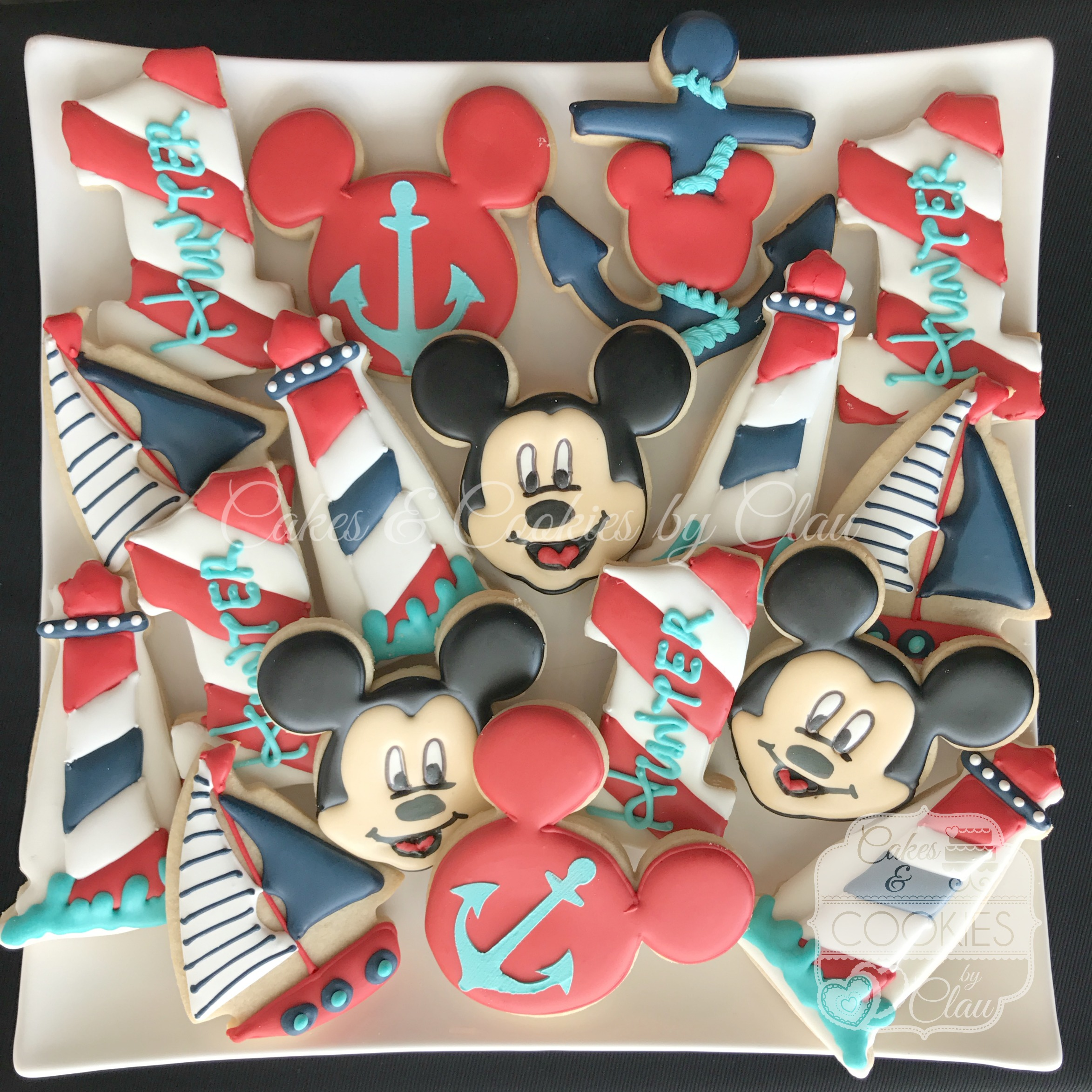 Mickey Mouse - Nautical 2
