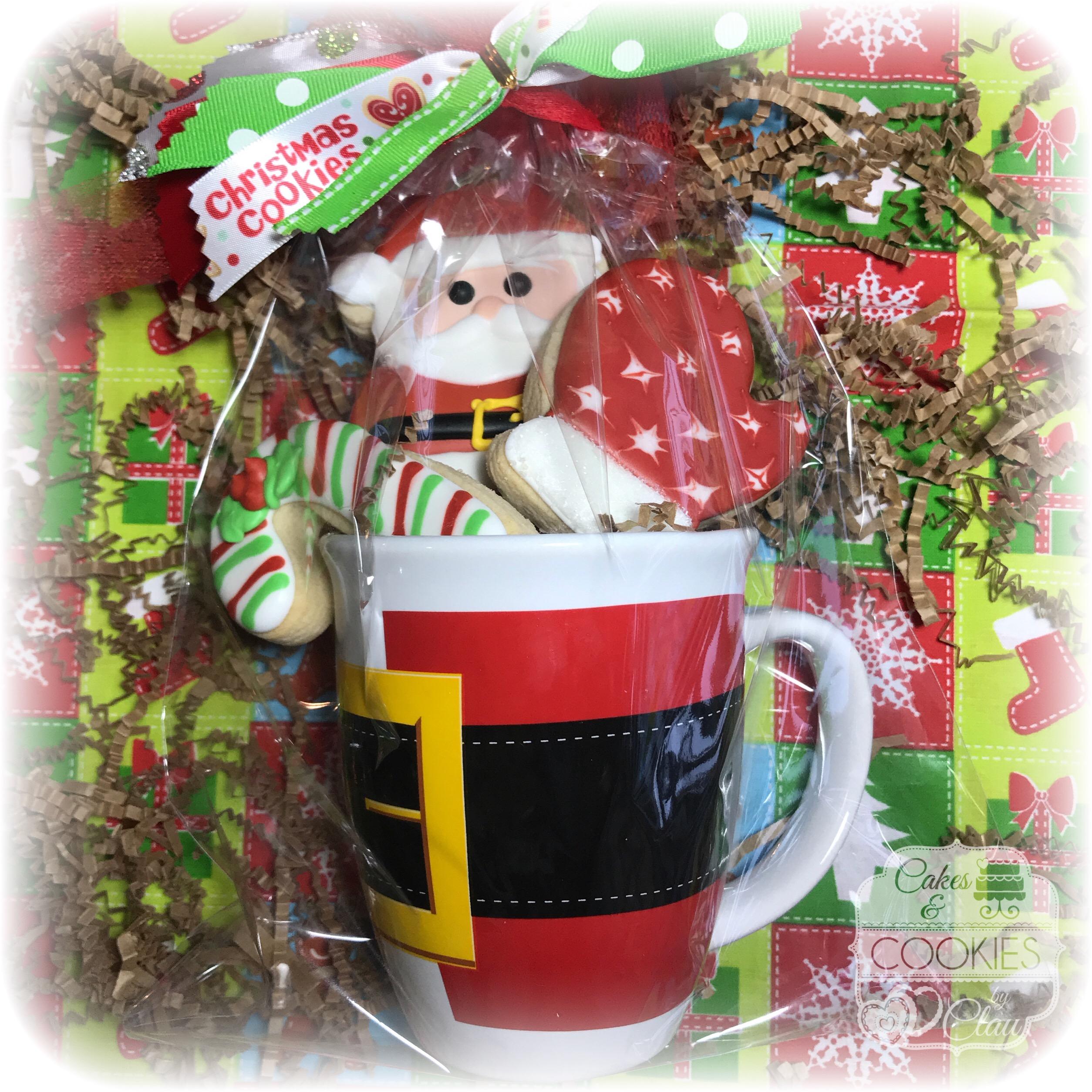 Santa Cookie Mug