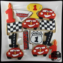Adrian's Cars Platter