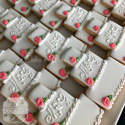 Monogram Cakes