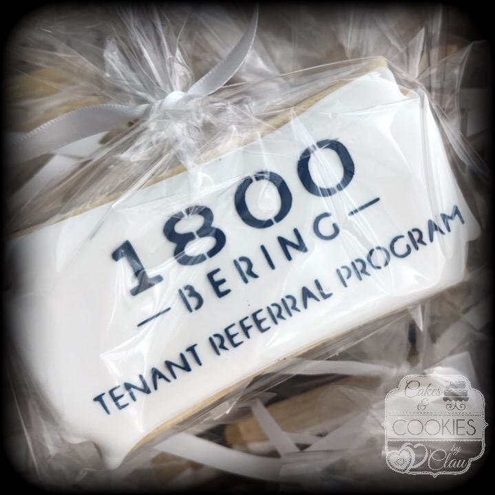 1800 Bering Logo Cookies