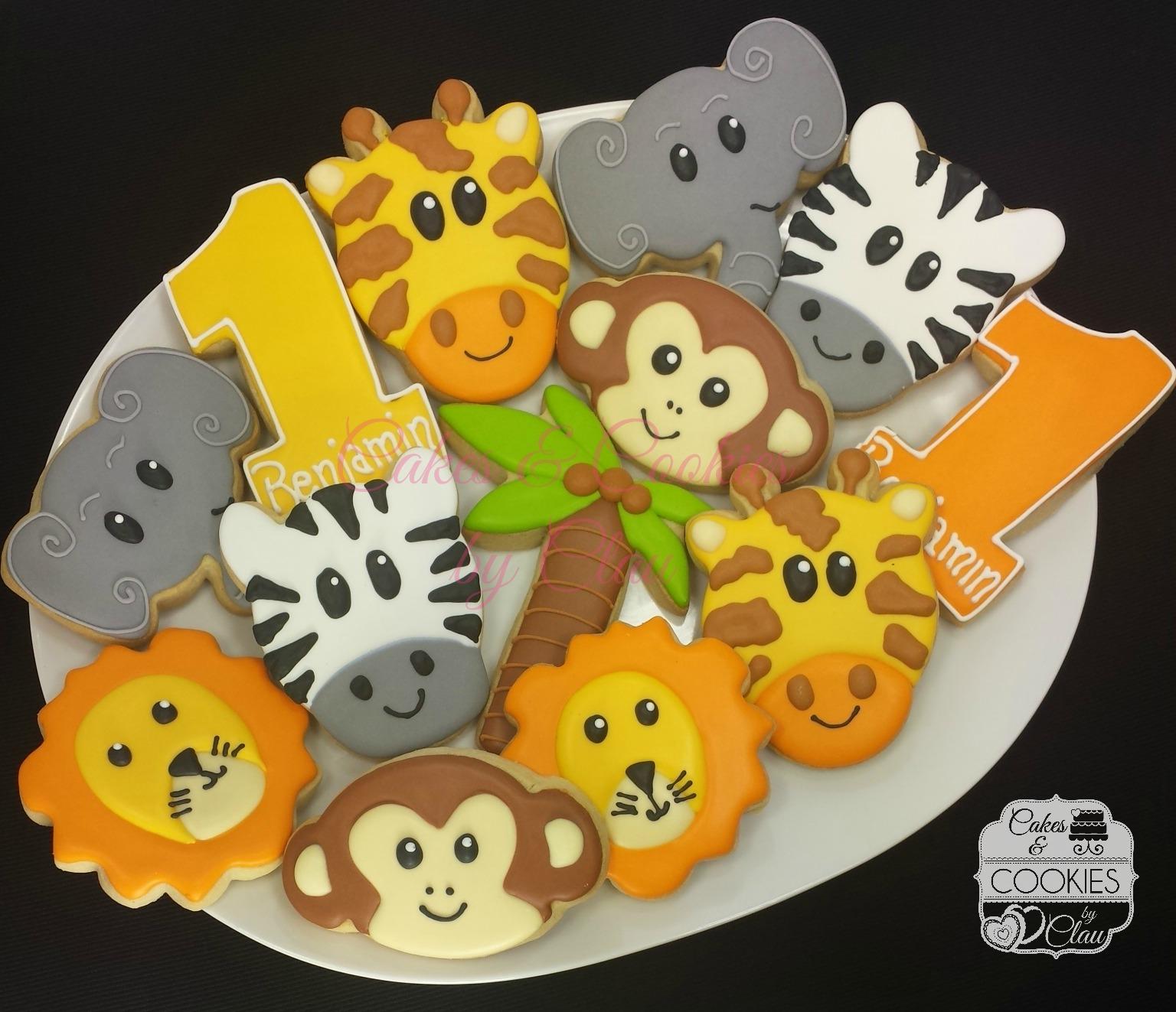 Jungle / Safari Cookies