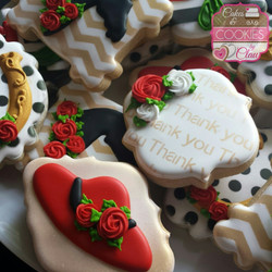 Kentucky Derby Thank You Cookies