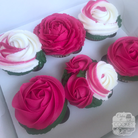 Summer Floral Cupcakes 1