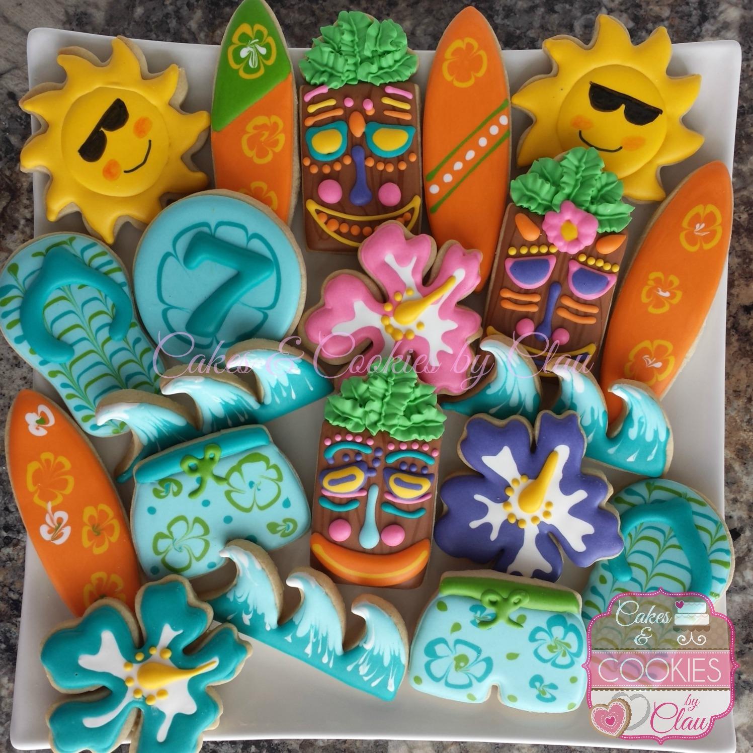 Luau Birthday Set