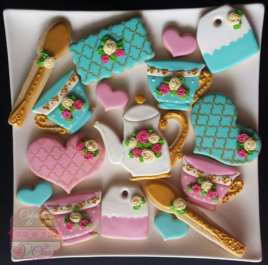 High Tea Party Cookies