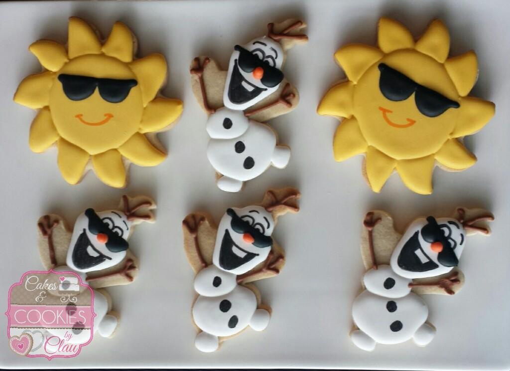 Olaf Summer Cookies