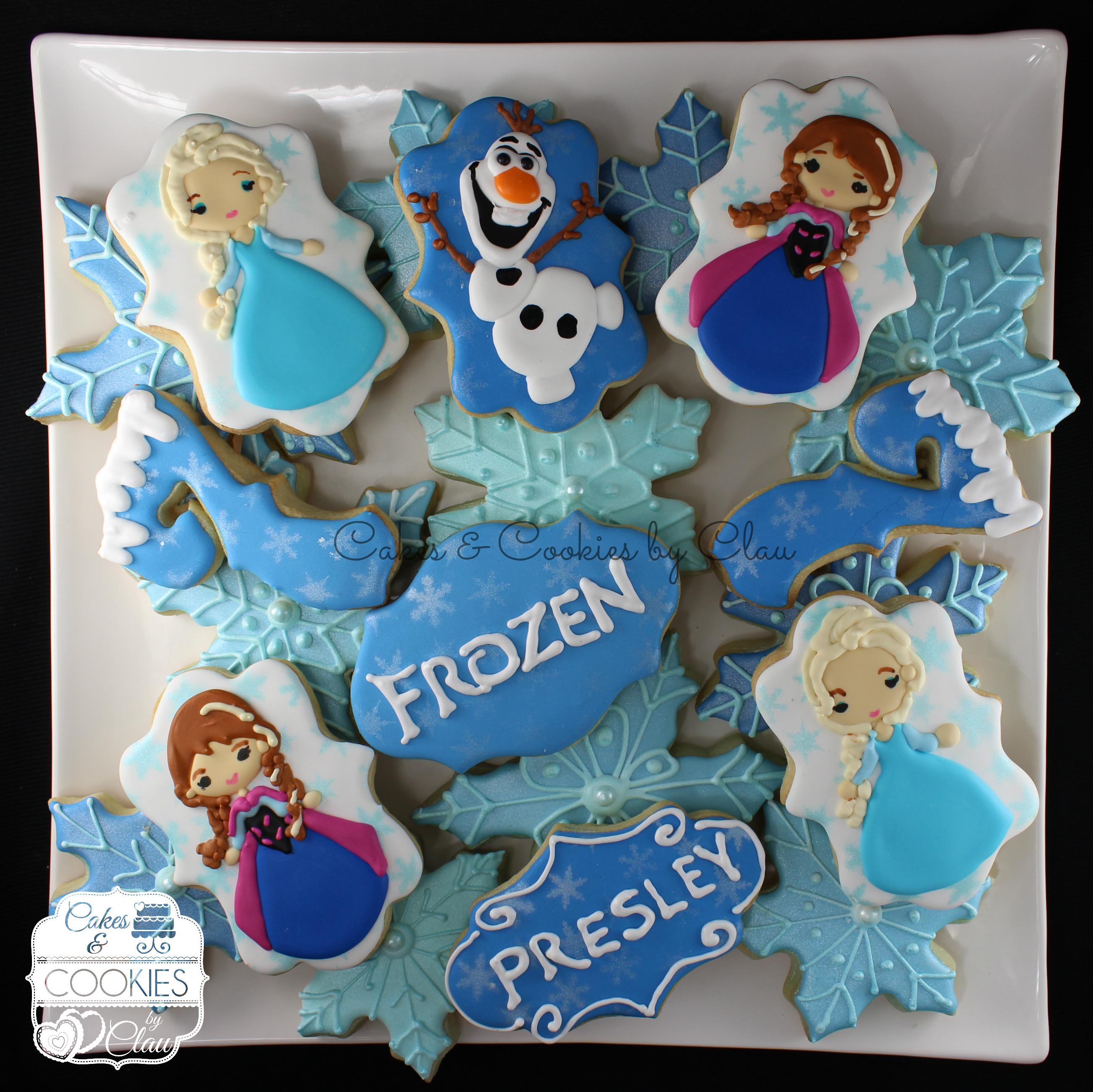 Presley's Frozen Platter