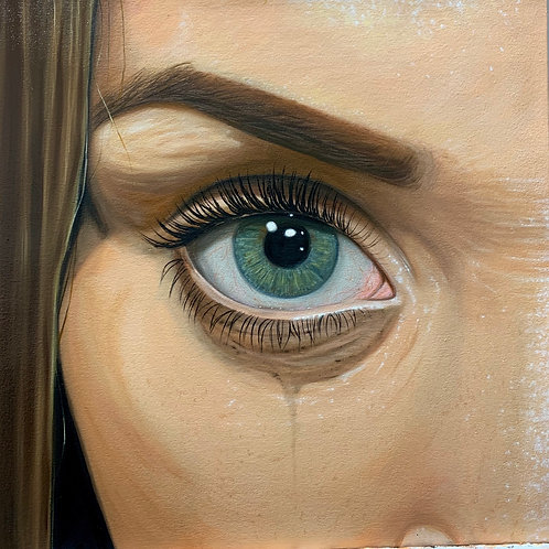 """these violent delights have violent ends"" original painting"