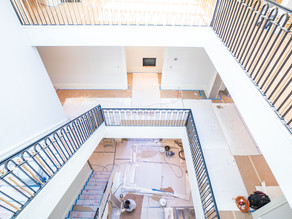 An entry way to fall in love with. Hard Hat Highlights with Al Ross Luxury Homes | Houston, Texas