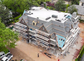 Brick, Wine and Tile - See the latest progress at The St. James | Al Ross Luxury Homes
