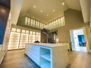 Two-Story Closet Ready for Glitz and Glamour.