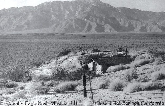 Cabot Yerxa's home on Miracle Hill in Desert Hot Springs