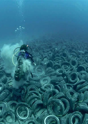 Tires in our oceans!!